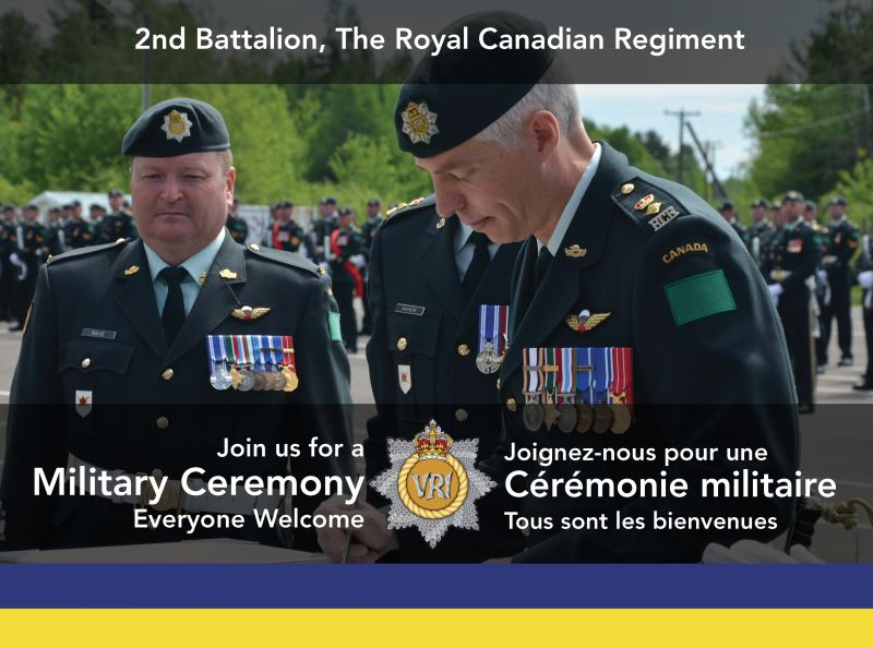 2 RCR Change of Command Ceremony