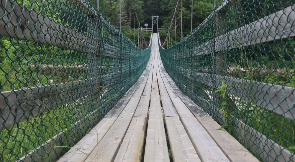 Fundy Trail Parkway Suspension Bridge