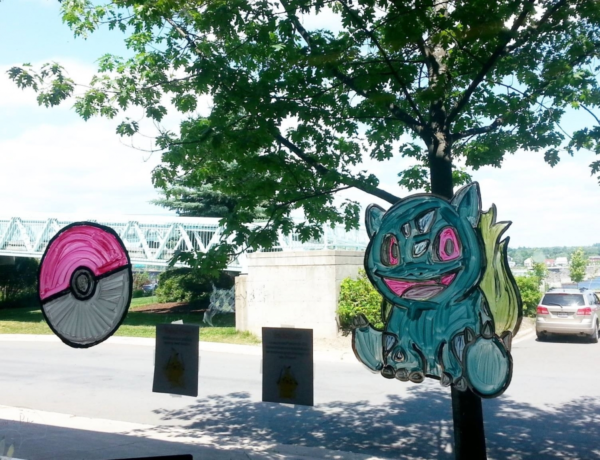 Pokemon at the Fredericton Public Library