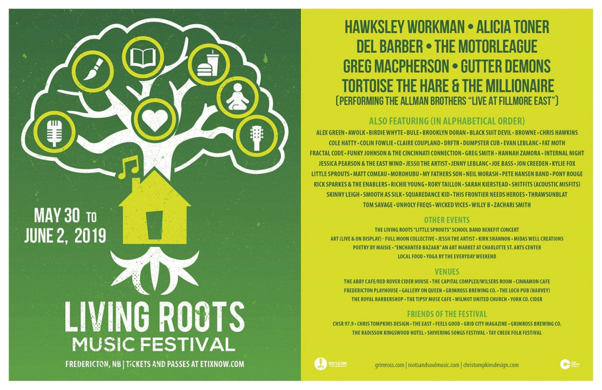 Living Roots Music Festival 2019 | Fredericton Tourism