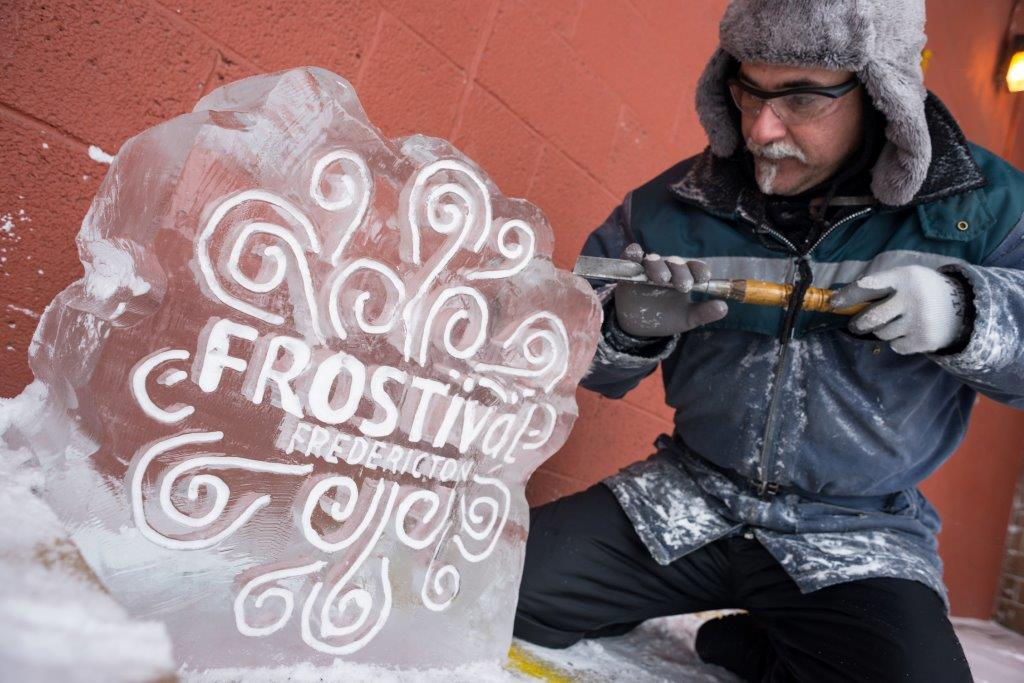 Fredericton FROSTival Ice Sculptures Showcase