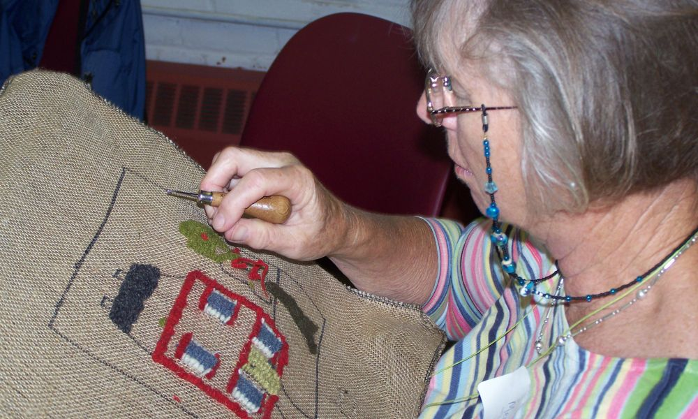 Traditional Rug Hooking