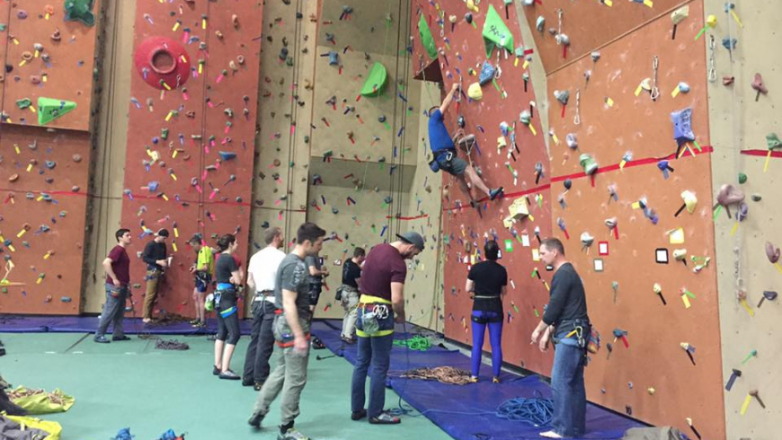 Base Gagetown Climbing Wall: