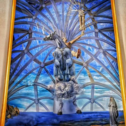 The #dali exhibit at @beaverbrook_ag was excellent! Really glad I had the chance to check it out. . . . #art #artistic #artgallery #museums #travel #learn #explorer #ExploreFedericton #Canada