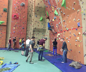 Base Gagetown Climbing Wall