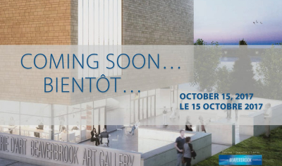 The countdown is on: Beaverbrook Art Gallery Announces Expansion Opening Date