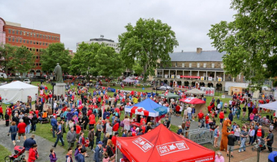 Canada Day in Fredericton
