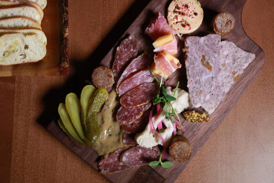 The provincial charcuterie boards