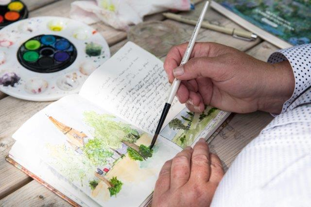 Watercolour workshop Fredericton