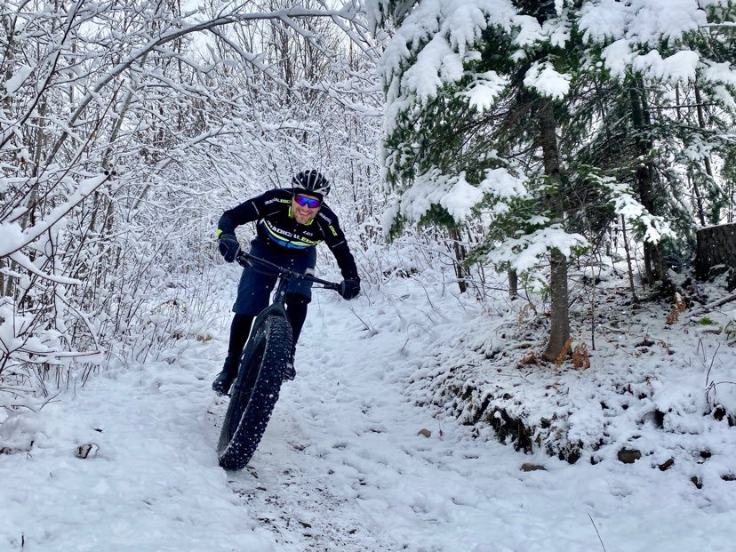 Winter Biking in Fredericton
