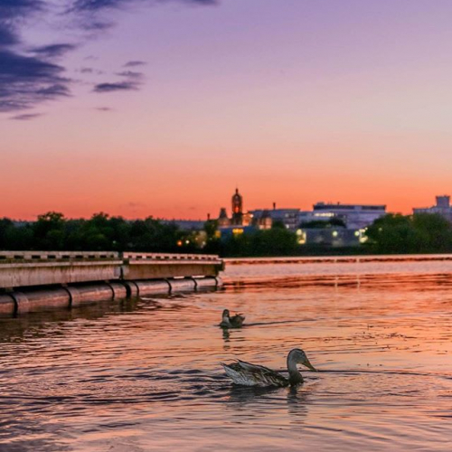 Beautiful Fredericton NB at sunset. #519fredericton #fredtourism #frederictontourism #frederictonnb #kismetphotography #149gibsonstreet